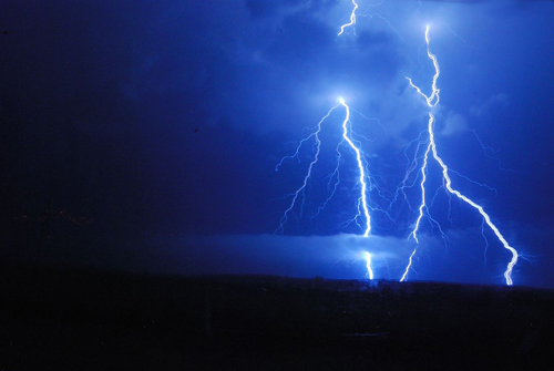 storm över stora hortobágy